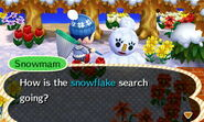 ACNL-Melted Snowmam