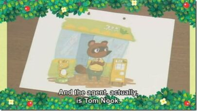 Tom Nook Store and Concept NL