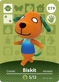 Biskit Animal Crossing Wiki Fandom
