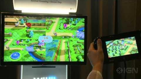 NintendoLand Animal Crossing Gameplay Demo - E3 2012