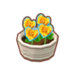 PC-FurnitureIcon-potted orange heart roses