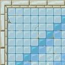 Flooring bath tile