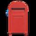 NH-House Customization-red large mailbox