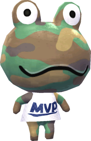 Frog (villager)   Animal Crossing Wiki   FANDOM powered by ...