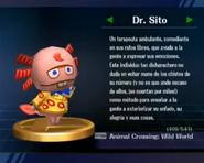 Trofeo de Dr. Sito en SSBB