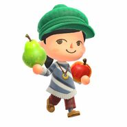 Animal-Crossing-New-Horizons Characters-Fruit
