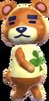 -Teddy - Animal Crossing New Leaf