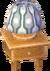 Beige alpine lamp