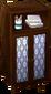 Dark brown alpine closet