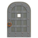 NH-House Customization-gray iron door (round)