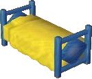 Blue bed NL