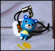 Bluebear Key Charm