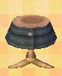 NL-Black-denim skirt