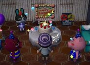 Curly Dolly Rasher ACNL Villager Birthday