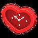 NH-Furniture-Cute wall-mounted clock (red)