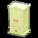 NH-Furniture-Cute wardrobe (yellow)