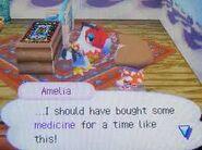 Amelia Sick in Wild World