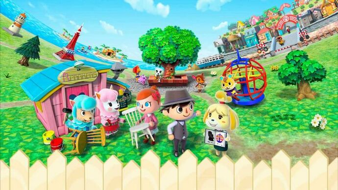 Animal Crossing Portada