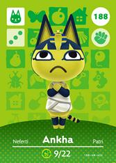 Amiibo 188 Ankha