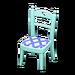 NH-Furniture-Cute chair (sky blue)
