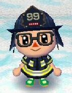 Fireman look