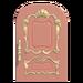 NH-House Customization-pink fancy door (round)