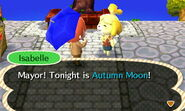 Meeting With Autumn Moon Isabelle
