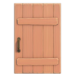 NH-House Customization-pink rustic door (square)