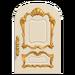 NH-House Customization-white fancy door (round)