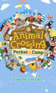 Pocket Camp-écran titre