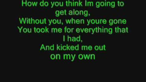Queen - Another One Bites the Dust with lyrics