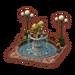 Fontaine en bronze niveau 5-ACPC