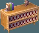 Modern alpine dresser