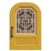 NH-House Customization-yellow imperial door (round)