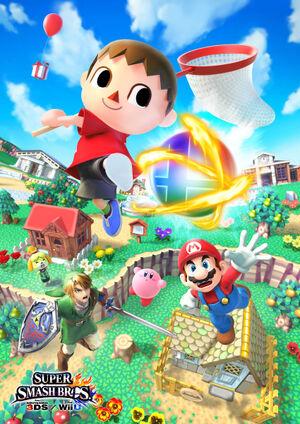 Animal Crossing SSB4