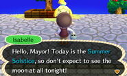 Isabelle's Summer Solstice Greetings
