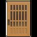 NH-House Customization-latticework door (square)