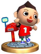 Chico de Animal Crossing (Trofeo Brawl)