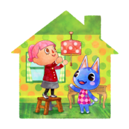 Animal Crossing - Happy Home Designer - Artwork 01