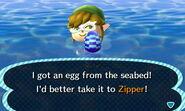 Bunny day egg sea
