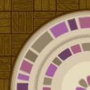 Flooring round carpet