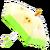 NH-DIY-Clothing-Pear umbrella