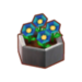 PC-FurnitureIcon-potted blue art blossoms