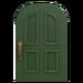 NH-House Customization-green common door (round)