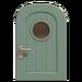NH-House Customization-pale-blue basic door (round)