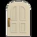 NH-House Customization-white common door (round)