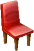 Common chair red NL