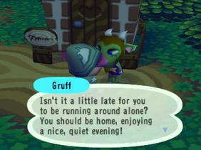 Gruff into