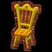PC-FurnitureIcon-yellow tea-party chair