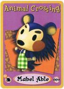 Animal Crossing-e 1-009 (Mabel Able)